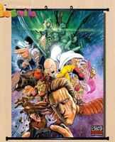 Anime ONE PUNCH-MAN Saitama Oppai hogar Decoración póster pared desplazamiento 15 regalo de Año Nuevo