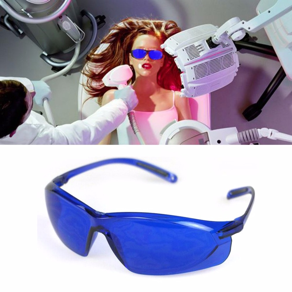 1pcs safety glasses IPL beauty protective goggles red Laser hoton Color light 200-1200nm spectrum of continuous absorption цена 2017