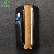 Floveme Роскошный кожаный чехол для iPhone 7 Plus 6 6S плюс Чехол для Samsung S6 S7 S8 края для Xiaomi MI5 крышка бумажник сумки