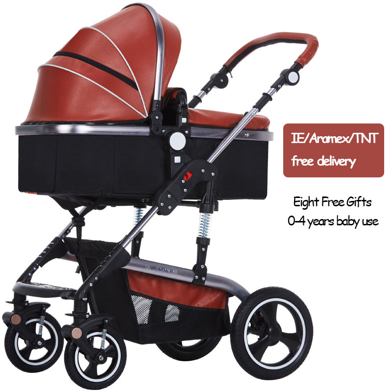 aimile baby stroller 2 in1 stroller four seasons russia free shipping 0-36 months baby 2 in 1 Bora baby stroller folding four seasons general baby four-wheel shock absorbers stroller
