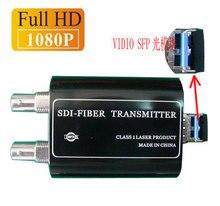 3G-SDI Óptico de Alta Definición 1080 P/60 HZ Mini Digital HD-SDI a puerto LC de fibra de fibra Única