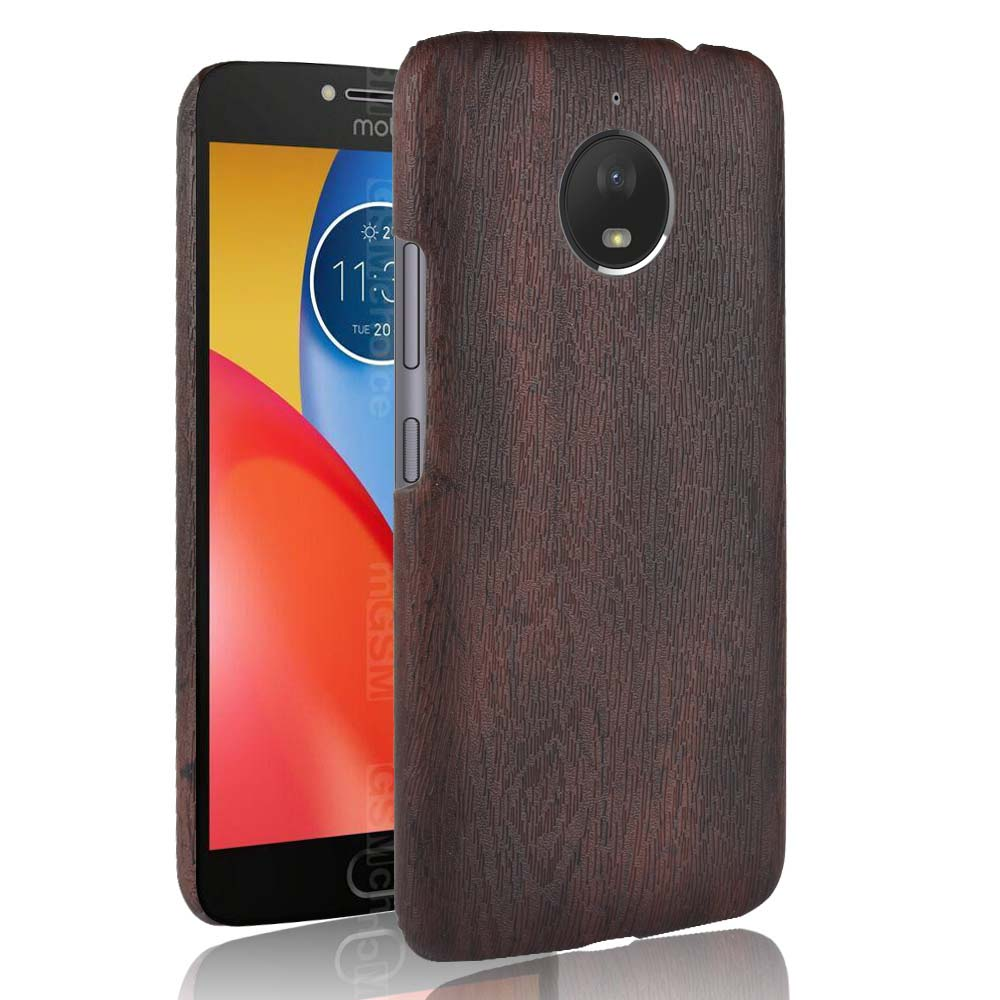 SUBIN New phoneCase For <font><b>Motorola</b></font> Moto <font><b>E4</b></font> <font><b>XT1762</b></font> XT1772 fundas Retro wood grain Mobile phone Back Cover Phone Protective Case image