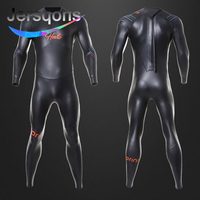 Jersqons 3mm Yamamoto SCS Neoprene Wetsuits Keep Warm Full Body Scuba Surfing Men Diving Suits Waterproof Triathlon Swimsuit