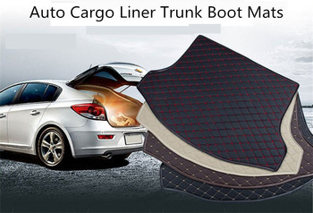Auto Cargo Liner Trunk Mats For BMW X1 F48 2016 2017 2018  Car Boot Mat High Quality Brand New Embroidery Leather