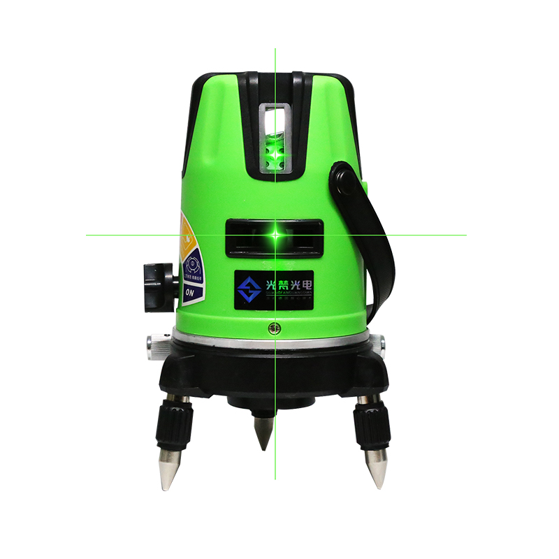 XEAST laser level 5 lines 6 points dots laser level 360 rotary cross laser line leveling with outdoor model free shipping xeast xe 50r new arrival 5 lines 6 points laser level 360 rotary cross lazer line leveling with tilt function