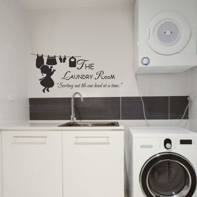 Laundry Sign   The Laundry Room Sorting Out Life One Load At A Time   Vinyl