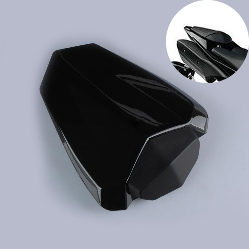 Black ABS Plastic Motorcycle Rear Passenger Seat Cover Cowl Fairing For Yamaha YZF R1 YZFR1 YZF-R1 2009 2010 2011 2012 2013 2014 1 pcs free shipping rear seat cover cowl for 2009 2012 yamaha yzf r1 yzf r1 2010 2011 09 12 white motorcycle fairing