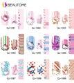 Cute Hello Kitty Temporada 2 juego Pegatina pegatina de Uñas Herramienta de Manicura de la Decoración Dedo Full Cover Nail Wraps Tatuajes Transferible
