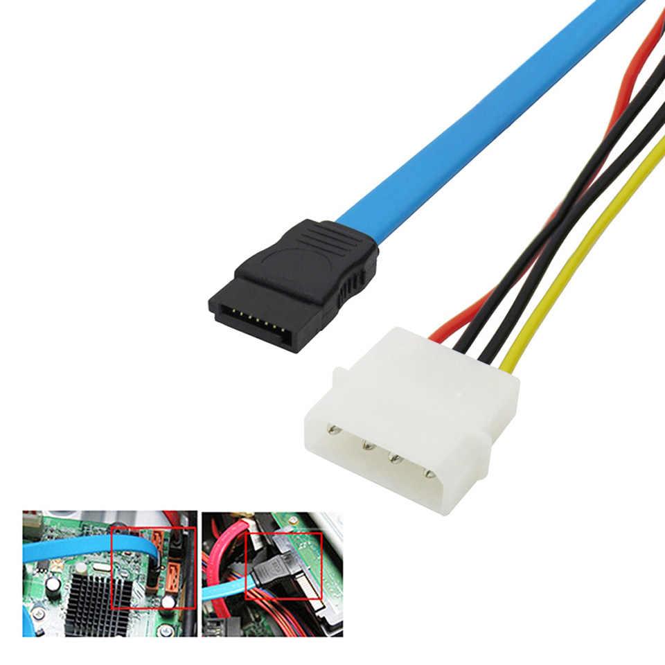 small resolution of  kebidu sata serial ata 7 pin to sas 29 pin and 4 pin power adapter connector