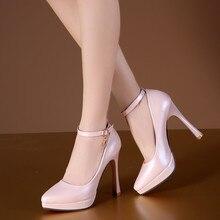 2017 woman pumps white wedding shoes women high heel shoes platform shoes sy-1887
