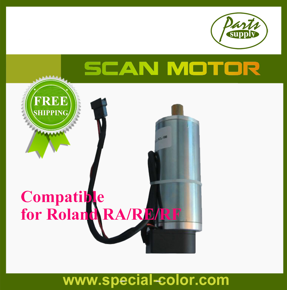 Free Shipping! Roland DX7 Printer Servo Motor (Scan Motor) for RA640/RE640/RF640 oem roland vs 640 scan motor printer parts