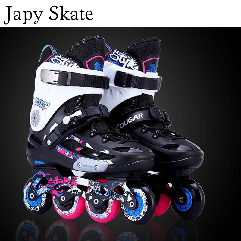 Japy Skate Original Cougar MZS509 Slalom Inline Skates Roller Skating Shoes Slalom Sliding Free Skating Shoes Patines AdultoJapy Skate Original Cougar MZS509 Slalom Inline Skates Roller Skating Shoes Slalom Sliding Free Skating Shoes Patines Adulto