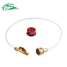 Jeebel открытый газовая заправка адаптер кемпинг газовая горелка клапан цистерны пропан запасной адаптер заправки газовых баллонов для газовая плита
