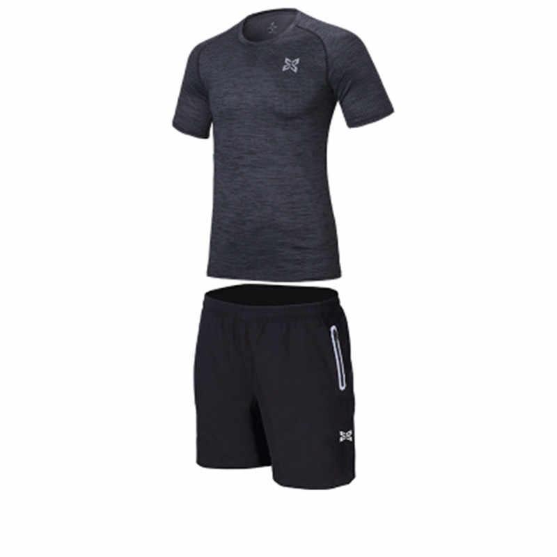 Мужской спортивный костюм Костюмы одежда для бега, рубашки и шорты для Баскетбол Фитнес спортивные колготки нижнее бельё для девочек футболка светоотражающие шорты спортивный костюм