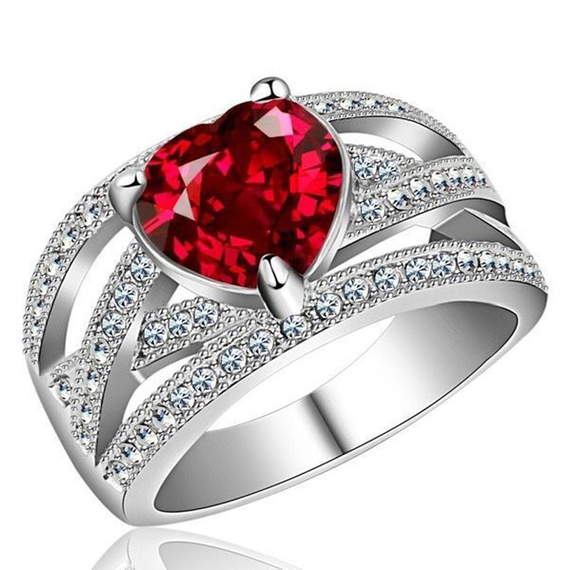 heart crystals enegagment promise ring (2)