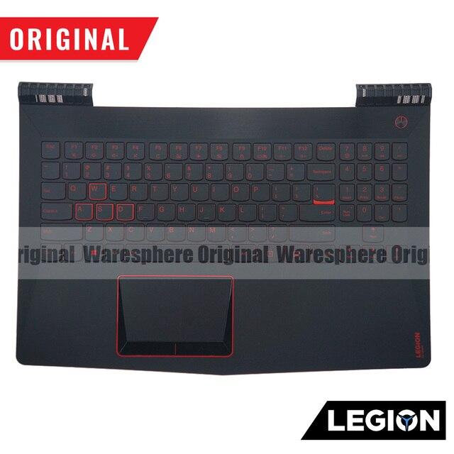 Original for Lenovo Legion Y520 R720 Y520-15 R720 -15 Y520-15IKB R720-15IKB LCD Back Bezel Plamrest Bottom Base SP US RUKeyboard 3