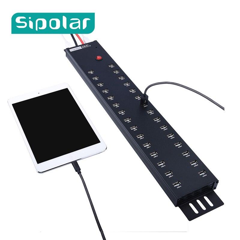 30 porta usb di ricarica o il trasferimento di dati usb2.0 hub di ricarica stazioni di ricarica per 30 iPad mini 4