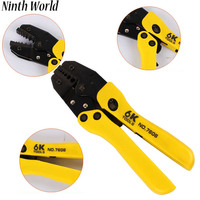 Ninth World Cables Plier Crimping Tool For Insulated Ratchet Terminal Crimper Machine