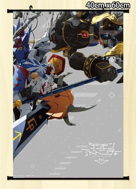 Jepang Anime Poster Dinding Geser Digimon Adventure Tri Omnimon Alphamon
