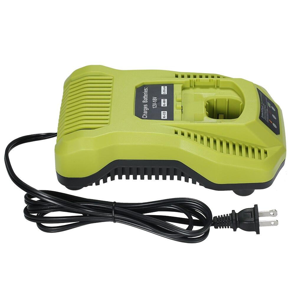 P117 chargeur de batterie NI-CD NI-MH Li-ion remplacement de batterie pour 12-18 V pour Ryobi tournevis électrique outils électriques accessoires