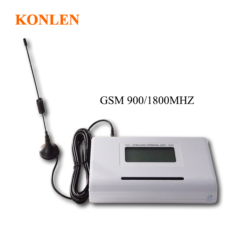 Home LCD Fixed GSM Phone Wireless Sim Card Terminal GSM 900 1800MHZ Connects Desk Phone or
