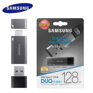 Image 5 - Samsung unidad Flash USB 3,1 para Chromebook y Macbook, 128 GB, DUO Plus, velocidad de hasta 300 MB/s, OTG, TypeC, USB C, 128 gb