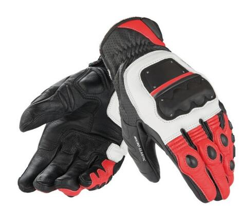 free shipping 2016 4 Stroke Evo Mens Leather <font><b>Gloves</b></font> Black/red/white Racing <font><b>Glove</b></font> Motorcycle <font><b>Glove</b></font>