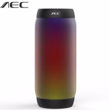 AEC Водонепроницаемый светодиодные фонари Открытый Портативный Велосипеды Беспроводной Bluetooth ручной Динамик Колонка мини сабвуфер для Xiaomi JBL Колонки