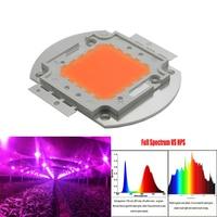 5pcs/lot Led plant light ,100W Led grow chip full spectrum 380nm~840nm for led grow chip