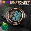 La Energía Solar Reloj Hombres Deportes Relojes Digitales 2016 Relogio masculino Impermeable Reloj Relojes Homme Horloges Mannen