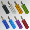 OPHIR 8pcs Chromatic Color Aluminum Tattoo Grips Set for Body Tattoo Machine Gun Tattoo Accessories _TA059