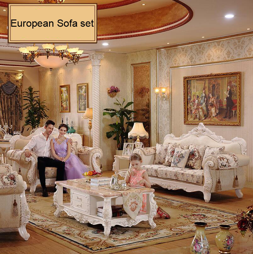 Webetop Living Room Sofa Set Europe Style Farbic Luxury Furniture Wood  Carving Sofa In Living Room Sofas From Furniture On Aliexpress.com |  Alibaba Group Part 69