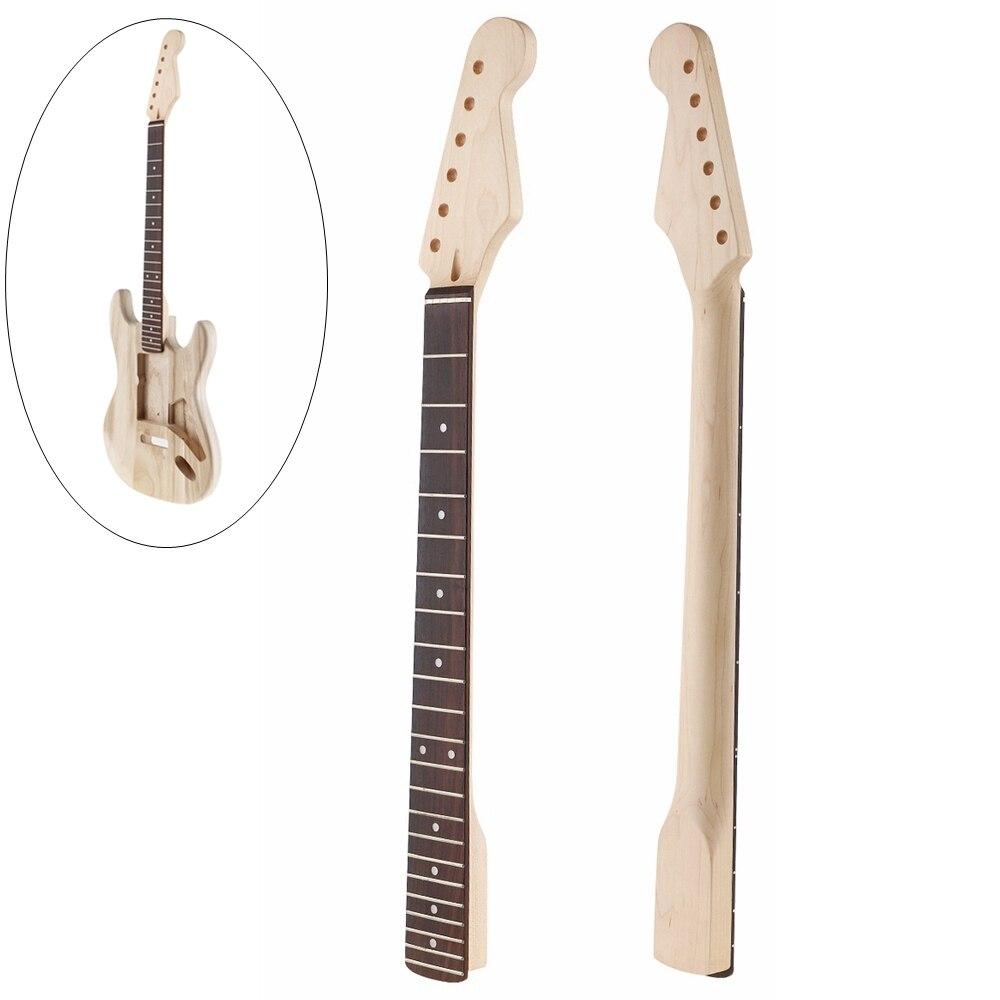 buy maple guitar neck 22 fret rosewood fingerboard for st electric guitar parts. Black Bedroom Furniture Sets. Home Design Ideas