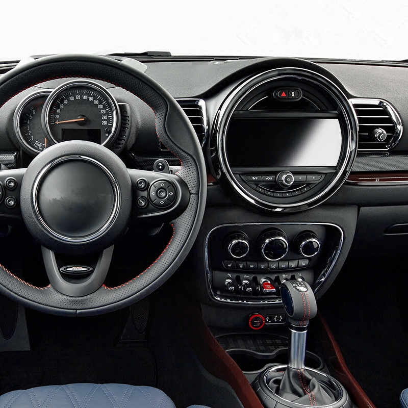 "HD Navigasi Yang Jelas Pelindung Layar Layar Pelindung Transparan Kaca Film untuk MINI COOPER 6.5 ""8.8"" GPS Meter Dashboard"