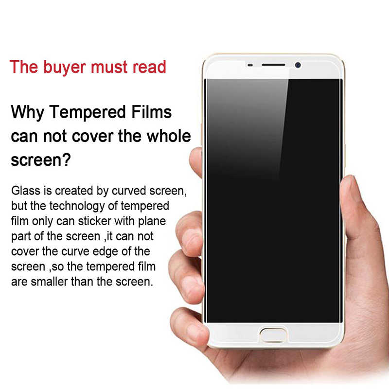 2pcs Tempered Glass for Lenovo A5 K320t S5 (K520) Z5 K8 Note A Plus K4 K6  Explosion-proof Protective Film Screen Protector