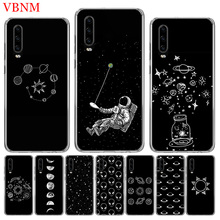 Abstract Outer Space Silicone TPU Phone back Case For Huawei Mate 10 20 Pro Lite 20X S RS Y6 Y7 Y9 2019 Gift Customized Cases
