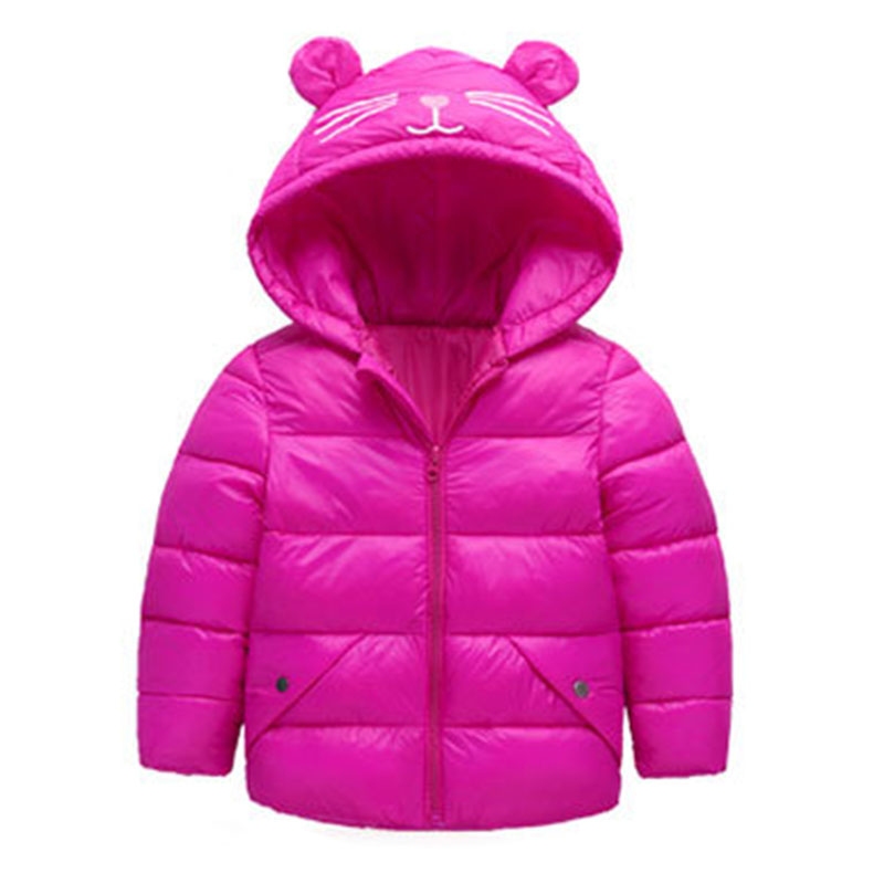 2019 European Style Baby Girl Clothes Baby Girl Clothes Winter Boys Winter Coat Girl Hooded Kids Winter Jacket Children Clothes