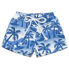 цена на Fashion Hawaiian Style Children Kids Shorts Beach Print Beach Pants Cute Boys Summer Swimming Wear