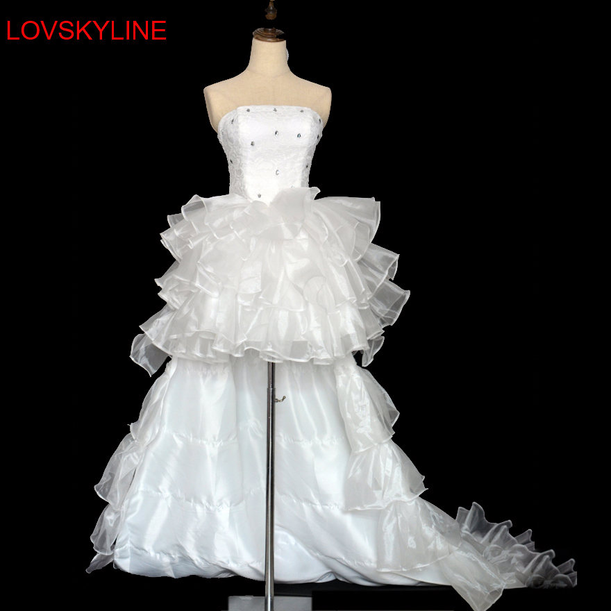 2017 low price the bride royal princess wedding dress for Aolisha wedding dress price