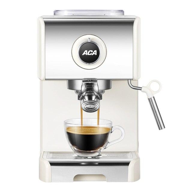1250w Aca Ac Es12a Steam Coffee Machine Household Commercial Espresso 20bar