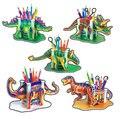 Своими руками бумага 3d-пазл животное динозавр пенал 3D бумага модель образовательный игрушки для дети