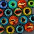 20 мм Фото Стекло Кабошоны Художественного Камея Установить Handmade Основы Настройки Глаз Дракона Шаблон 20 шт./лот, 6 мм Thickness-C4735