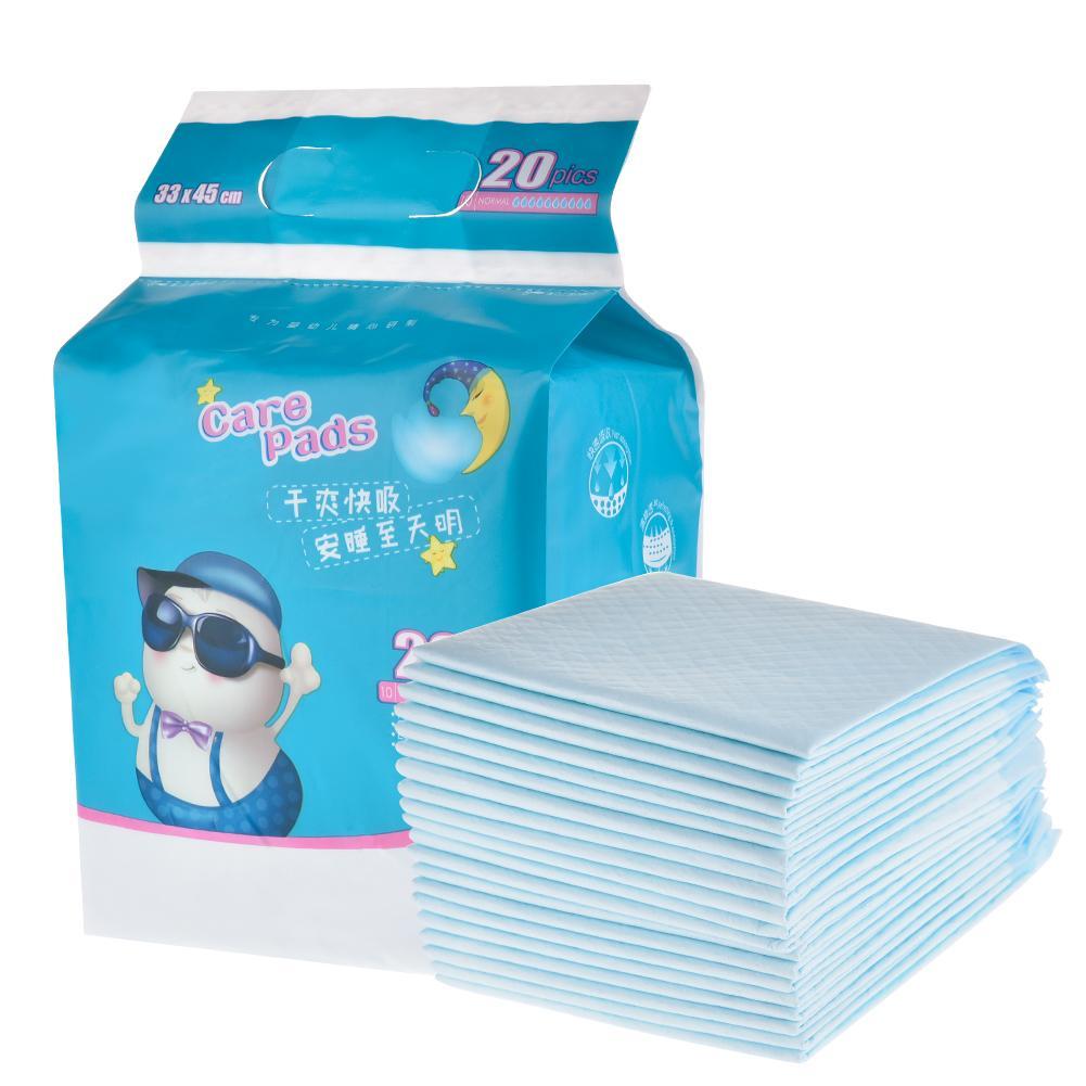 20 pièces couche-culotte infantile imperméable respirant nouveau-né enfants jetable matelas menstruel Pad bébé fournitures