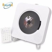 Kecag EStgoSZ CD-плеер на стене Bluetooth Портативный домашнего аудио Box с пультом дистанционного управления Управление FM радио встроенный громкоговорители MP3