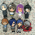 3 Types Japanese Anime Tokyo Ghoul Keychain PVC Keyring wholesale fashion Pendant Key Chain 12pcs/set Free Shipping