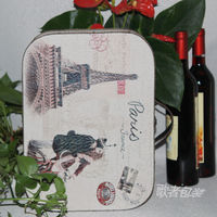 Song Supply Of Quality Leather Wine Box C Canvas Suitcase Upscale Wine Wine Gift Box