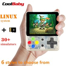 CoolBaby LDK video game console Retro Mini Handheld Game players portable Console HD Children consola boy tetris