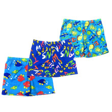 1PCS Beach Swimwear Shorts ages 3 to 8 Boys Baby Kid Child Swimming Trunks Cartoon Printed Toddler Swimsuit Summer Swim Wear(China)
