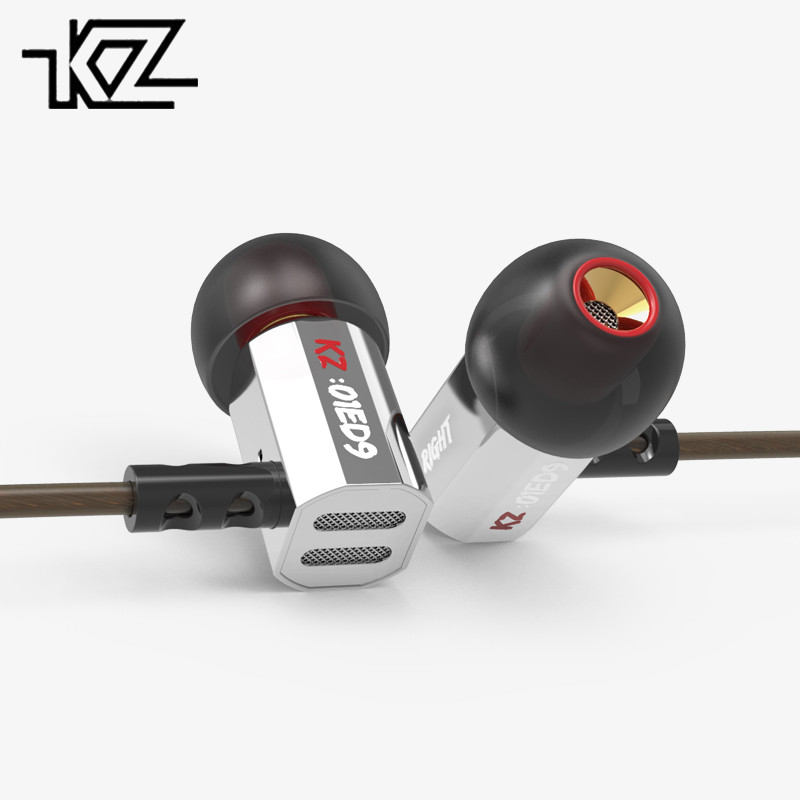 KZ Metal Earphones Headset HIFI Music Heavy-Bass ED9 Fever Zinc-Alloy ED2/ZS3