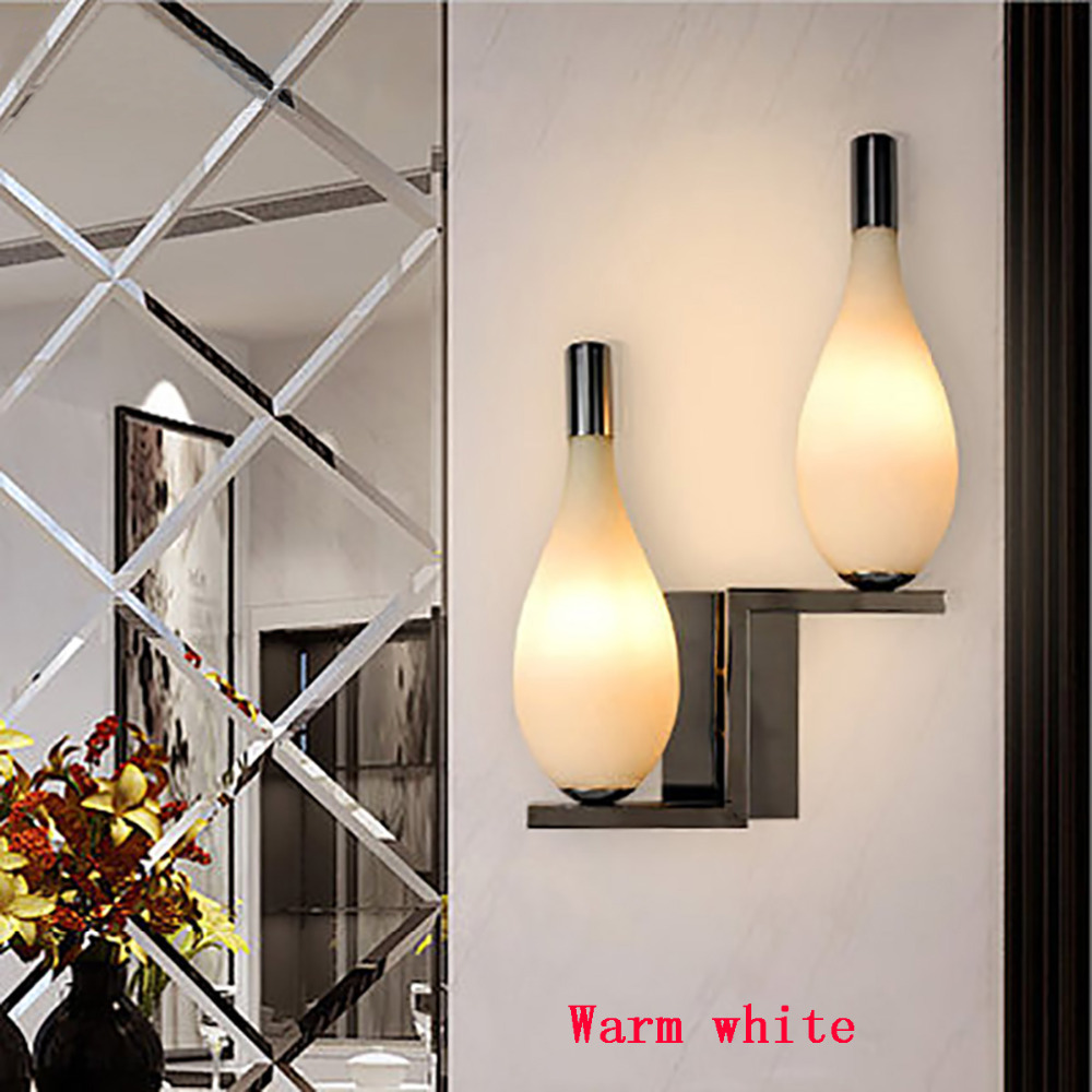 6w led bedroom lamp wall lamp living room tv wall hallway for Lampen 4room
